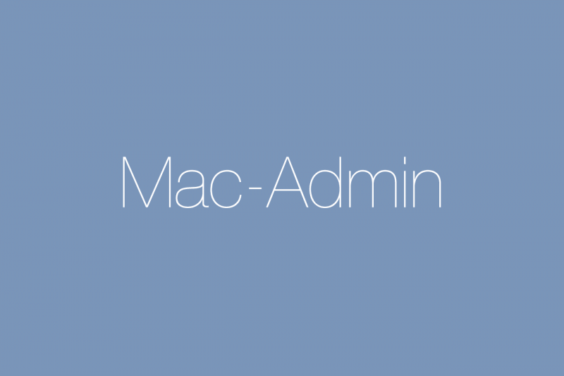 Marc Grove – Mac-Admin